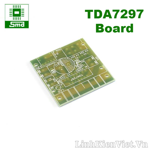 PCB TDA7297