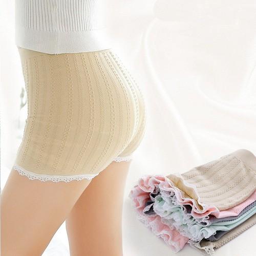 Combo 2 Quần Mặc Trong Váy Dệt Gân Cao Cấp
