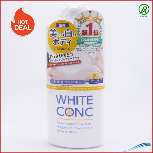 Sữa Tắm White Conc Body Nhật Bản Dưỡng Da Trắng Hồng Tái Tạo Mô Tế Bào Trên Da, 360ml ART447-LC - 11702013 , 19008084 , 15_19008084 , 660000 , Sua-Tam-White-Conc-Body-Nhat-Ban-Duong-Da-Trang-Hong-Tai-Tao-Mo-Te-Bao-Tren-Da-360ml-ART447-LC-15_19008084 , sendo.vn , Sữa Tắm White Conc Body Nhật Bản Dưỡng Da Trắng Hồng Tái Tạo Mô Tế Bào Trên Da, 360ml