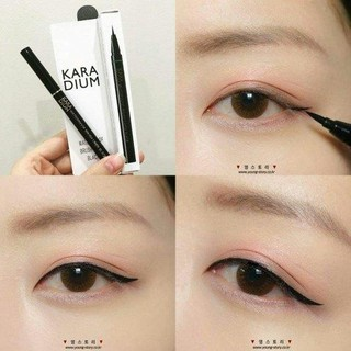 Bút Dạ Kẻ Mắt Karadium Waterproof Eyeliner Pen Black - KEMATKARADIUM thumbnail