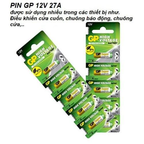 5 viên Pin GB 27A 12V pin của cuốn báo động
