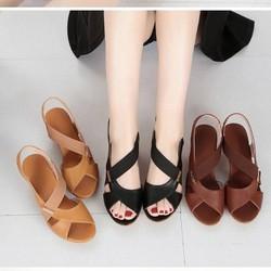 Dép sandal nữ cao gót