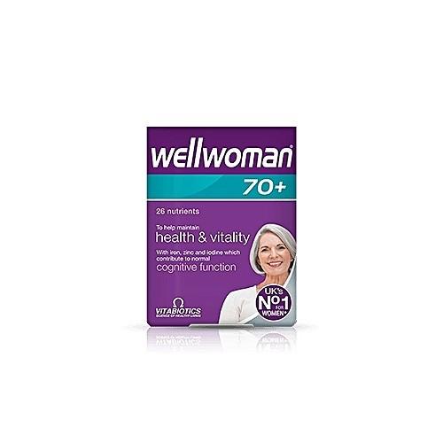Vitamins tổng hợp dành cho nữ Vitabiotics Wellwoman 70+ 30 Viên nén