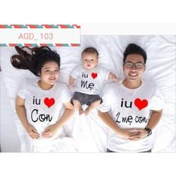 Áo gia đình yêu