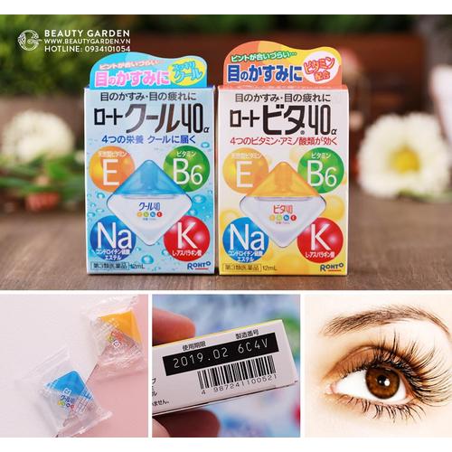 thuốc nhỏ mắt rohto Nhật Bản vita 40 bổ sung vitamin 12ml - 11714058 , 19027527 , 15_19027527 , 100000 , thuoc-nho-mat-rohto-Nhat-Ban-vita-40-bo-sung-vitamin-12ml-15_19027527 , sendo.vn , thuốc nhỏ mắt rohto Nhật Bản vita 40 bổ sung vitamin 12ml