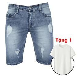 [SIÊU GIẢM GIÁ-CHO XEM HÀNG] mua Quần jean nam tăng 1 áo thun q02
