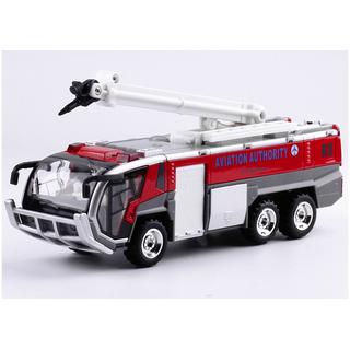 Ô tô cứu hỏa bằng sắt có âm thanh đèn nháy xe chạy cót đồ chơi trẻ em loại xe có vòi phun - CUUHOASAT1 thumbnail