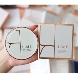 Phấn Nước Kiềm Dầu, Che Phủ Tốt Lime Real Cover Pink Cushion SPF50
