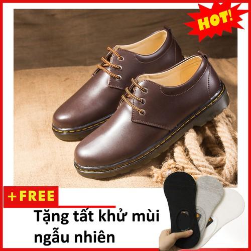 Giày boot nam | Giày boot nam cổ cao|Giày công sở nam|M353-NAU-LC