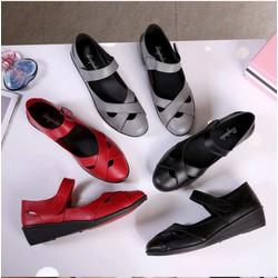 Giày da nữ công sở [SIÊU SALE]
