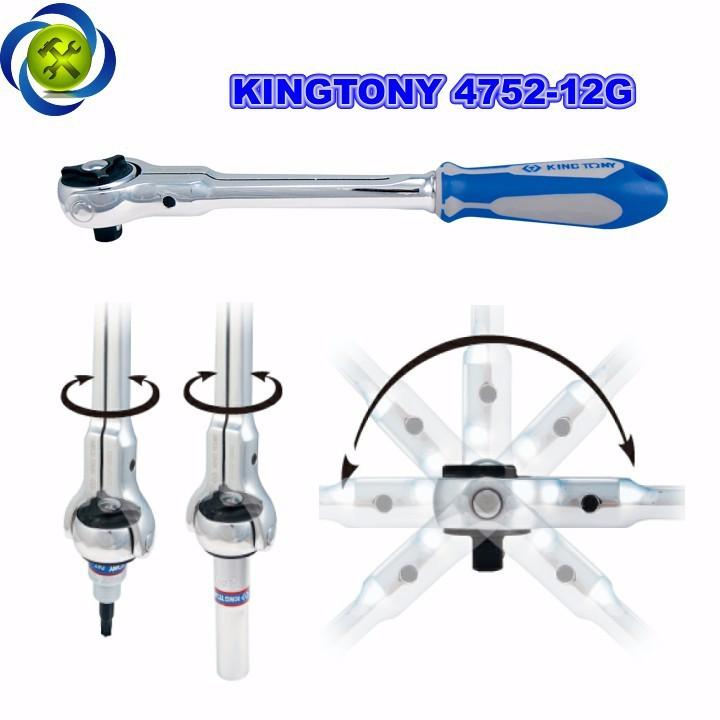Cần siết tự động lắc léo Kingtony 4752-12G 1 phần 2  1