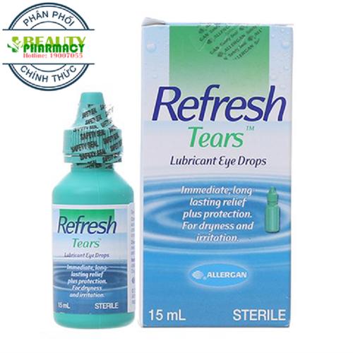 COMBO 2 Hộp Thuốc Nhỏ Mắt Refresh Tears Làm Dịu Mắt - 11717141 , 19032129 , 15_19032129 , 256000 , COMBO-2-Hop-Thuoc-Nho-Mat-Refresh-Tears-Lam-Diu-Mat-15_19032129 , sendo.vn , COMBO 2 Hộp Thuốc Nhỏ Mắt Refresh Tears Làm Dịu Mắt