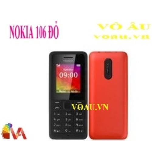 NOKIA 106 MÀU ĐỎ