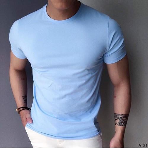 Áo thun ngắn tay nam vải cotton sịn nhiều màu co giãn 4 chiều thoáng mát form chuẩn - 11720711 , 19037369 , 15_19037369 , 115000 , Ao-thun-ngan-tay-nam-vai-cotton-sin-nhieu-mau-co-gian-4-chieu-thoang-mat-form-chuan-15_19037369 , sendo.vn , Áo thun ngắn tay nam vải cotton sịn nhiều màu co giãn 4 chiều thoáng mát form chuẩn
