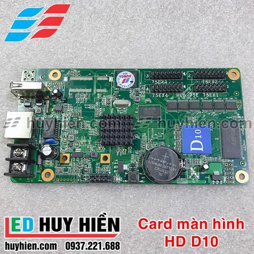 Card module màn hình Led HD D10 _ Card HD D10 hỗ trợ 4 tầng