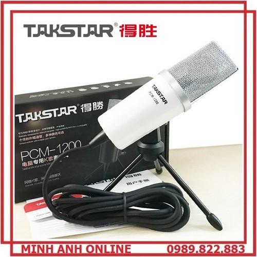 Mic hát karaoke online - Takstar PCM 1200