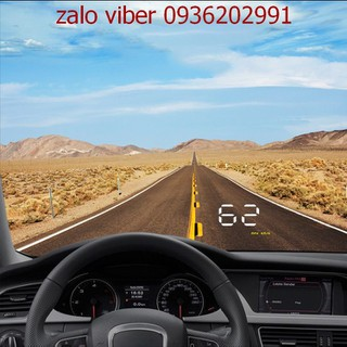 HUD hiển thị tốc độ trên kính xe - HUD báo tốc độ - HUD196xe thumbnail