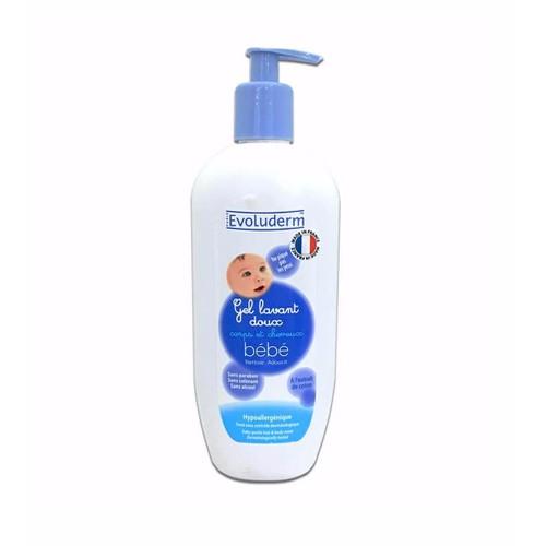 Sữa Tắm Gội Em Bé Evoluderm Baby Gentle Hair And Body Wash 500ml