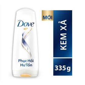 Kem Xả Dove Dưỡng Tóc Phục Hồi Hư Tổn 335g - 8934868113263