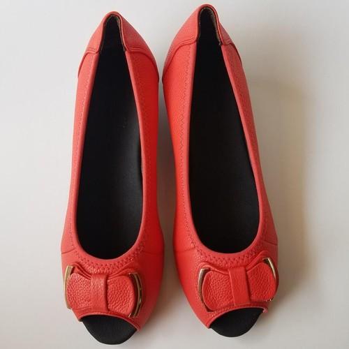 Giày Búp Bê Nữ Da Bò Cao Cấp Thời Trang - G5941