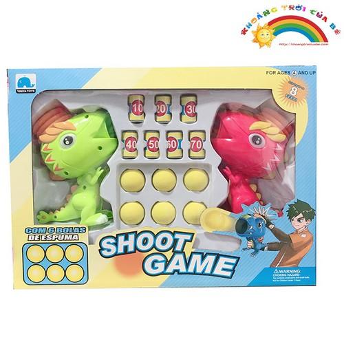 Bán đồ chơi Khủng long bắn bóng màu đỏ [ĐỒ CHƠI AN TOÀN]