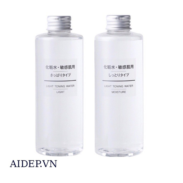 Muji Light Toning Toner Water