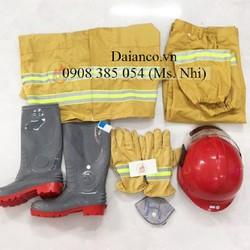 Giảm giá Combo đầy đủ bộ quần áo chống cháy theo TT48-BCA - 5 món kèm tem kiểm định- Hàng sẵn
