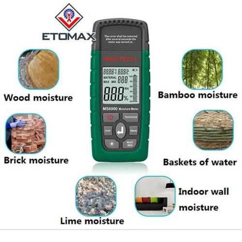 Máy đo độ ẩm gỗ cao cấp MASTECH MS6900 - 11728730 , 19049324 , 15_19049324 , 1690000 , May-do-do-am-go-cao-cap-MASTECH-MS6900-15_19049324 , sendo.vn , Máy đo độ ẩm gỗ cao cấp MASTECH MS6900