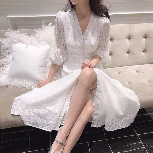 Váy dự tiệc Kumiko_hàng thiết kế