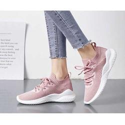 Giày thể thao nữ , giày xỏ cổ chun m3