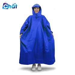 Áo mưa bít người vải dù tổ ong cao cấp Freesize nam nữ
