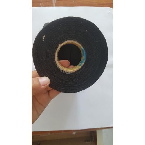 Băng keo vải chịu nhiệt cao dùng cho hệ thống điện trên ô tô_19mm x 30m