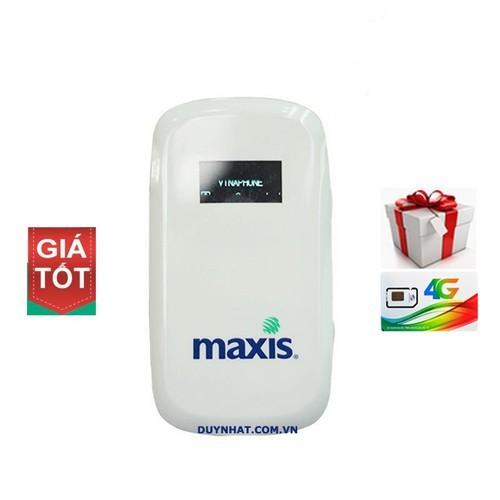Bộ phát wifi Maxis MF60 Phiên bản 2019 Thế hệ mới thay thế SUN ZTE MF65