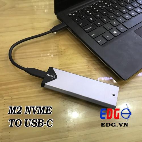 Box ổ cứng M2 Nvme sang usb-c SSK SHE-C325