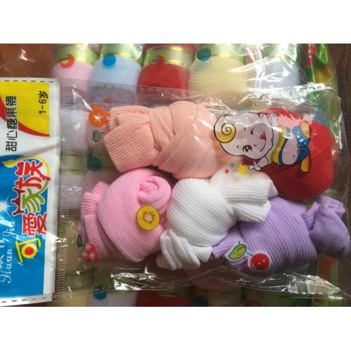 set 5 đôi tất giấy kẹo cho bé - 11741611 , 19069361 , 15_19069361 , 15000 , set-5-doi-tat-giay-keo-cho-be-15_19069361 , sendo.vn , set 5 đôi tất giấy kẹo cho bé