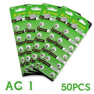 Set 05 Vỉ Pin AG1 Cho Đồng Hồ Đeo Tay Vỉ 10 Viên - Vỉ Pin AG1 Siêu Bền (5 Vỉ) thumbnail