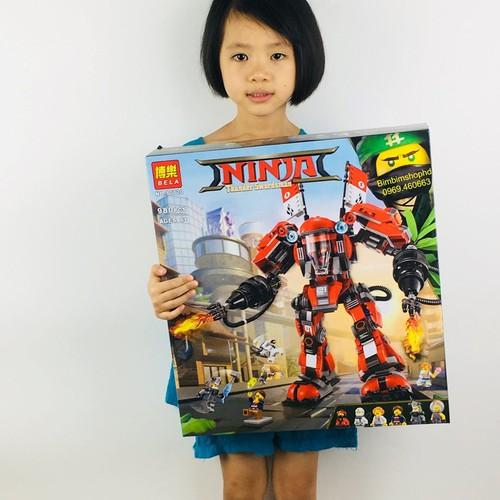 Xếp Hình Ninjago Chiến Binh Người Máy Siêu Cấp | Xếp Hình My Word