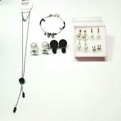 SET 7 món dây chuyền hoa tai cao cấp