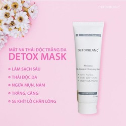 Mặt nạ sủi bọt thải độc trắng da Detox BlanC số1