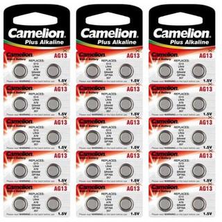 Set 10 Vỉ Pin Đồng Hồ Đeo Tay Camelion AG13 1.5V Chính Hãng - Pin AG13 1.5V Tiện Lợi (10 Vỉ) thumbnail