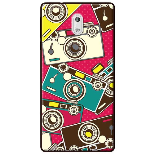 Ốp lưng nhựa dẻo Nokia 3 Máy ảnh