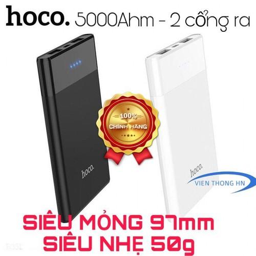 Pin dự phòng 2 cổng ra Hoco B35D màn led hiển thị dung lượng 5000mAh - 11741308 , 19068947 , 15_19068947 , 101000 , Pin-du-phong-2-cong-ra-Hoco-B35D-man-led-hien-thi-dung-luong-5000mAh-15_19068947 , sendo.vn , Pin dự phòng 2 cổng ra Hoco B35D màn led hiển thị dung lượng 5000mAh