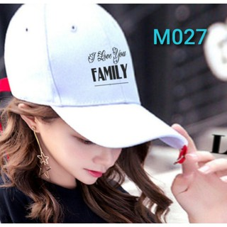 mũ in I LOVE YOU FAMILY - M027 thumbnail