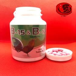 Thuốc nuôi B15 B12 dành cho gà đá 1 HỘP 50 VIÊN