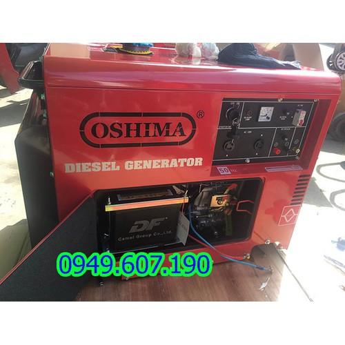 Máy phát điện chạy dầu-5kw oshima OS6500