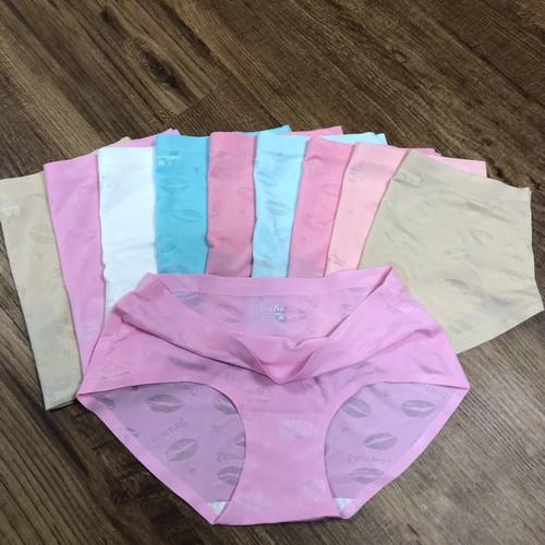 Combo 5 quần lót  su đôi môi không đường may from 50kg - 60kg  - được xem hàng trước
