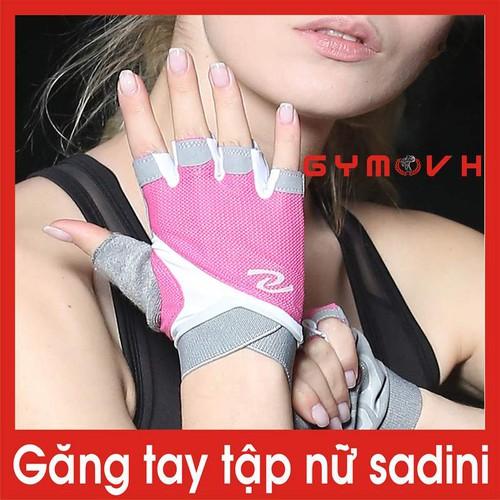Găng tay gym nữ saidini màu đen - găng tay tập gym