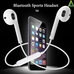 Tai nghe Bluetooth Sports Headset S6 siêu Bass