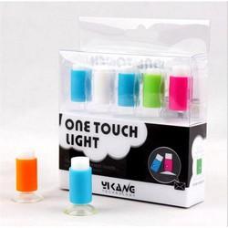 Đèn ngủ cảm ứng mini led lãng mạn hút chân không 1 bộ 5 cái DC2401