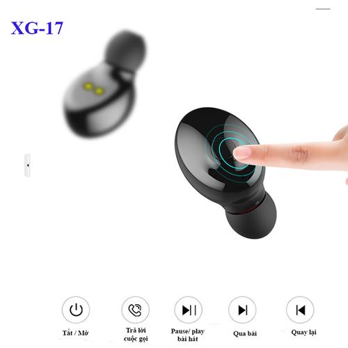 Tai nghe nhét tai bluetooth 5.0, đàm thoại 2 bên tai-  xg17